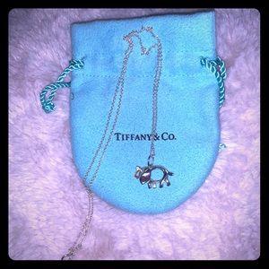 Tiffany Elephant Necklace